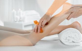 5 Massagens Anticelulite + 5 Pressoterapias com Oferta de uma Massagem à Escolha por 69€ em Alvalade!