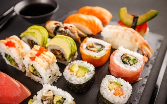 All You Can Eat de Sushi à la Carte + Sobremesa ao Jantar por 12,50€ na Baixa!