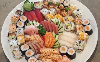 All You Can Eat de Sushi + Bebida + Café ao Almoço por 16€ junto a São Sebastião!