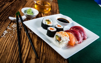 All You Can Eat de Sushi + Sobremesa + Café ao Almoço por 9,90€ em Carcavelos!
