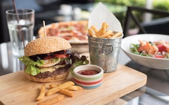 Hambúrgueres com 25% de Desconto em Fatura ao Jantar (Excepto Bebidas) em Odivelas!