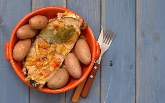 Menu de Comida Portuguesa para 2 Pessoas ao Jantar por 19€ em Alfama!