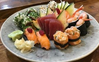 Fim de Semana: Menu de All You Can Eat de Sushi e Sashimi ao Jantar por 18€ no Saldanha!