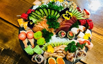 Fim de Semana: Menu de All You Can Eat de Sushi e Sashimi ao Jantar por 16,50€ no Saldanha!