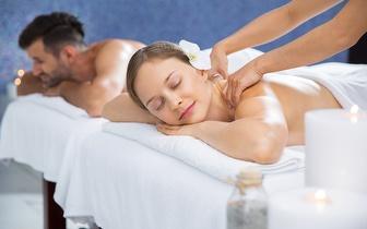 Massagem de Casal ao Corpo Inteiro + Chá Quente + Ritual de Velas Quentes por 29€ em Palmela!