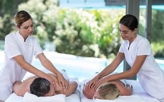 Massagem de Casal ao Corpo Inteiro com Ritual de Chá + Bombons por 49€ em Algueirão!