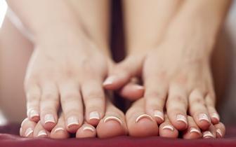 Manicure com Verniz de Gel + Pedicure Normal por 17€ no Saldanha!