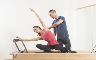 Aula Individual de Pilates Clínico de Aparelho + Avaliação Postural por 14€ na Maia!