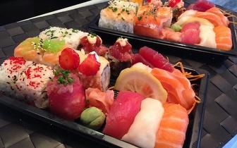 Take Away: Combinado de 40 Peças de Sushi ao Almoço por 25€ no Parque das Nações!
