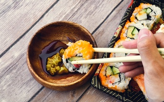 Take Away: Combinado de 40 Peças de Sushi ao Jantar por 25€ no Parque das Nações!