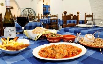 Comida Tradicional Alentejana com - 25% Sobre a Ementa em Arronches!