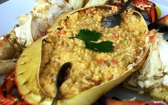 Menu para 2 Pessoas ao Jantar: Sapateira + Pratos + Bebidas + Cafés por 22€ em Cascais!