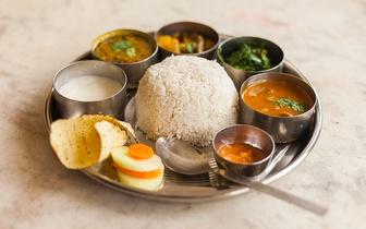 Menu de Comida Nepalesa e Indiana para 2 Pessoas ao Jantar por 22€ em Santos!