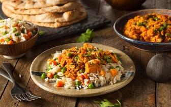Comida Nepalesa e Indiana: 20% de Desconto em Fatura em Take Away ao Almoço em Santos!