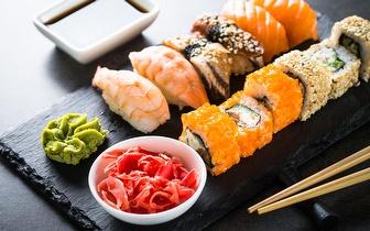 Menu de Sushi para 2 Pessoas ao Jantar por 30€ no Parque das Nações!