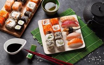 Menu de Sushi para 2 pessoas ao Almoço por 27€ no Lumiar!