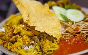 Menu Completo de Comida Nepalesa para 2 Pessoas ao Jantar por 19€ no Areeiro!