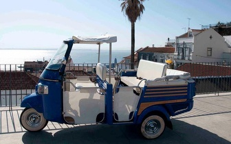 Vem andar de Tuk Tuk! Percurso Turístico aos principais miradouros de Lisboa!