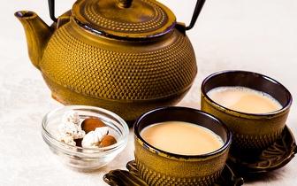 Menu de Chá Quente + Shisha Grande para 2 Pessoas por 12€ no Parque das Nações!