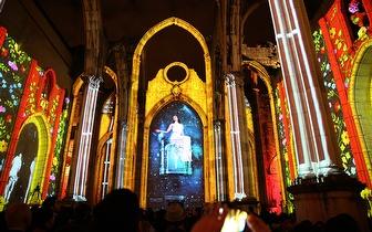 Lisbon Under Stars - Espetáculo Imersivo: Viagem no Tempo Sobre as Estrelas por 12€ nas Ruínas do Convento do Carmo!