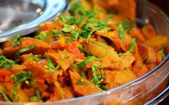 All You Can Eat de Comida Vegetariana ao Jantar por 14,90€ em Alvalade!