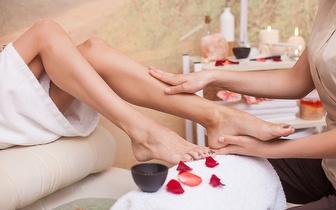 Sessão de Lava-pés com Sais + Massagem de Relaxamento por 9€ junto à Praça de Espanha!
