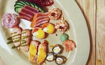 Rende-te ao Sushi dos Sá Morais: Menu para 2 Pessoas ao Jantar por 29€ na Rua Castilho!