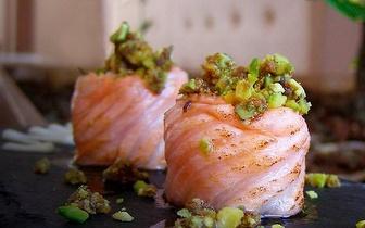 Sushi de Fusão com 30% de Desconto Sobre a Ementa ao Jantar em Oeiras!