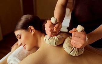 Massagem com Pindas e Óleos Essenciais ao Corpo Inteiro de 50min por 22€ no Saldanha!