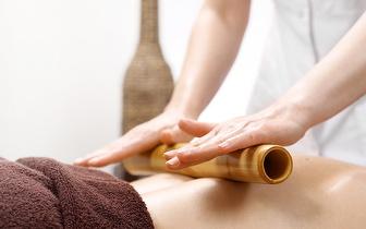 Massagem com Bambus de 50min ao Corpo Inteiro por 22€ no Saldanha!
