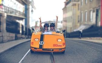 Passeio de GoCar para 2 Pessoas por 19,90€ em Lisboa!