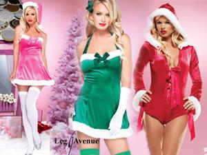 Desperte a sensualidade que há dentro de si! Fantasias Mãe Natal!