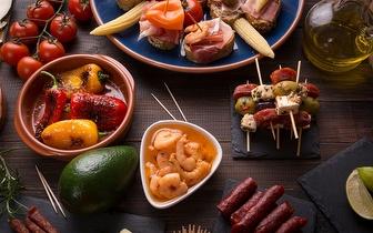 Menu para 2 Pessoas: Petiscos + Pratos Principais + Sobremesa por 27€ ao Jantar no Intendente!