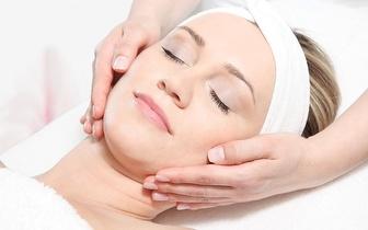 Para as Manchas e Acne: Mini Facial + Peeling Químico em Agualva!