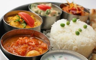 Comida Indiana com 40% de Desconto Sobre a Ementa ao Almoço em Picoas!