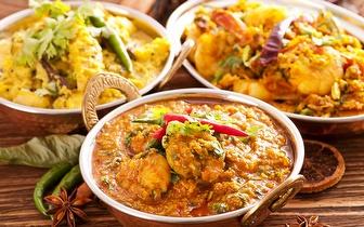 Comida Indiana com 40% de Desconto Sobre a Ementa ao Jantar em Picoas!