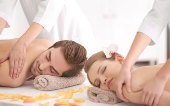 Massagem de Relaxamento para Casal com Ritual de Chá por 39€ na Amadora!