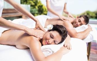 Massagem de Relaxamento para Casal com Ritual de Chá por 24€ em Montemor-o-Velho!