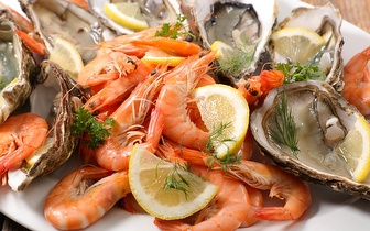 Mariscada ao Jantar por 21,50€/Pessoa em Torres Vedras!