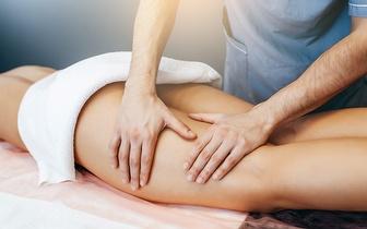 3 Massagens Anticelulíticas: 1 Zona à Escolha por 29€ em Guimarães!