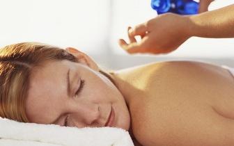 Massagem relaxamento total com óleo de essências!