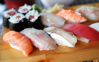 All You Can Eat de Sushi ao Jantar por 15€ em Cascais!