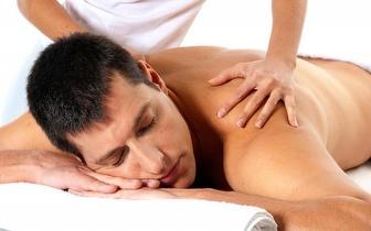 Massagem Russa à Coluna Vertebral ou Desportiva de 60 minutos por apenas 24€!