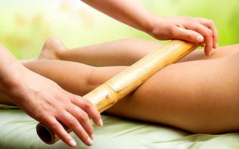 Massagem Anticelulite com Bambuterapia + Cafeterapia por 19€ nas Amoreiras!