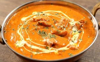 Comida Indiana e Nepalesa com 50% de Desconto ao Almoço nos Anjos!