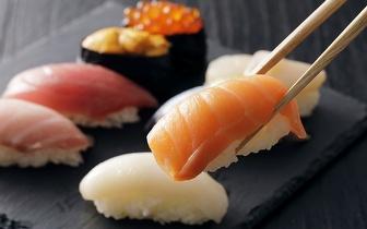 All You Can Eat de Sushi ao Jantar por 9,90€ em São Domingos de Rana!
