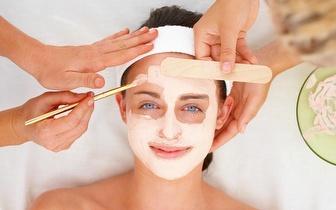 Programa de Limpeza Facial: Esfoliação + Limpeza de Poros + Máscara + Hidratação, por apenas 20€!