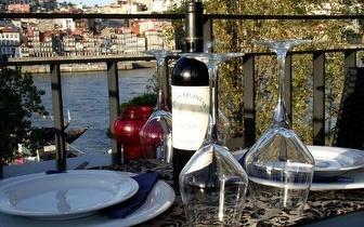 Menu Completo de Francesinha para 2 pessoas por 19,50€, com vista sobre o Douro!
