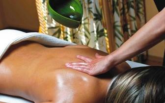 64% de desconto em Massagem Abhyanga