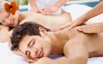 Massagem de corpo inteiro para casal, na Alameda!